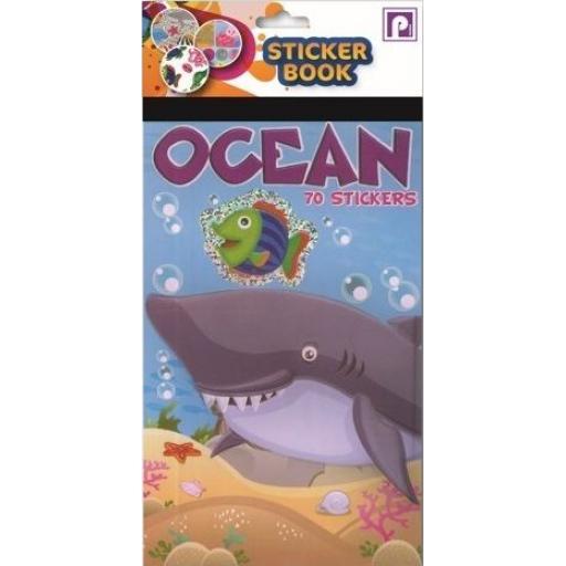 Pennine Sticker Book, 70 Stickers - Ocean