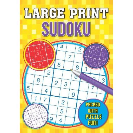 Brown Watson A4 Large Print Sudoku