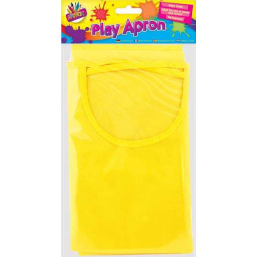 Artbox Play Apron - Assorted Colours