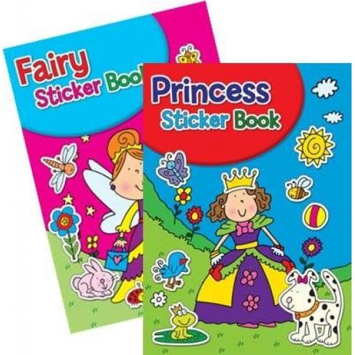 Squiggle A4 My Fun Colouring & Sticker Activity Books FP - Set of 2