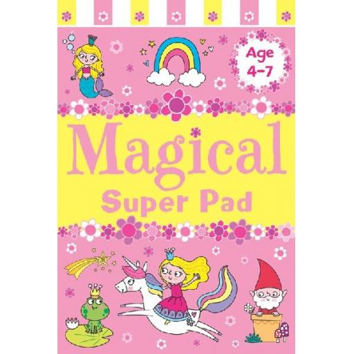 Brown Watson Age 4-7 A5 Magical Super Pad