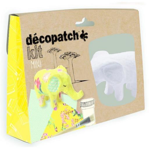 Mini Decopatch Kit - Elephant