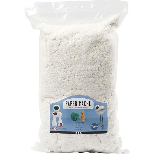 Creativ Paper Mache Powder Pulp 400g