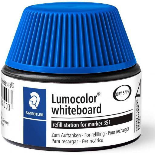 Staedtler Lumocolor Whiteboard Ink Refill - Blue