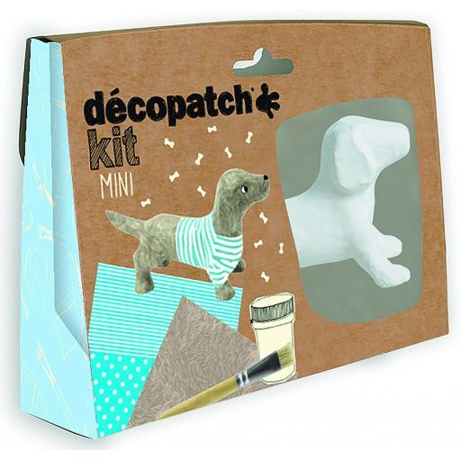 Mini Decopatch Kit - Dachshund