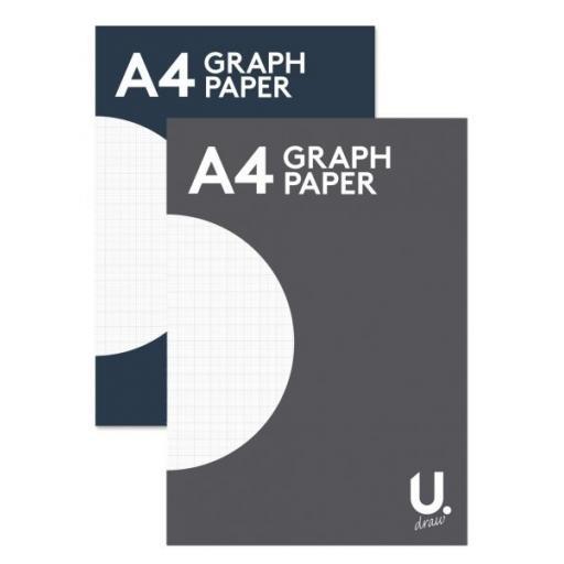 U. A4 Graph Paper - 80pg