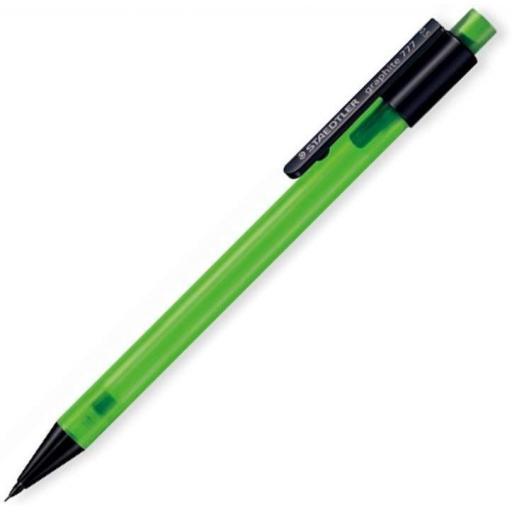 Staedtler Graphite 777 Green Barrel 0.5mm Mechanical Pencil