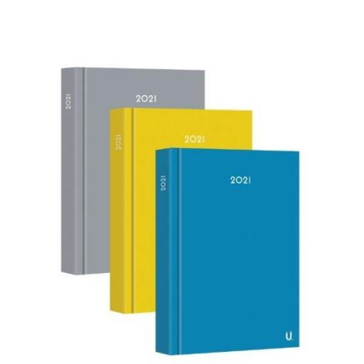 Martello A5 Page a Day 2021 Fashion Diary - Assorted Colours