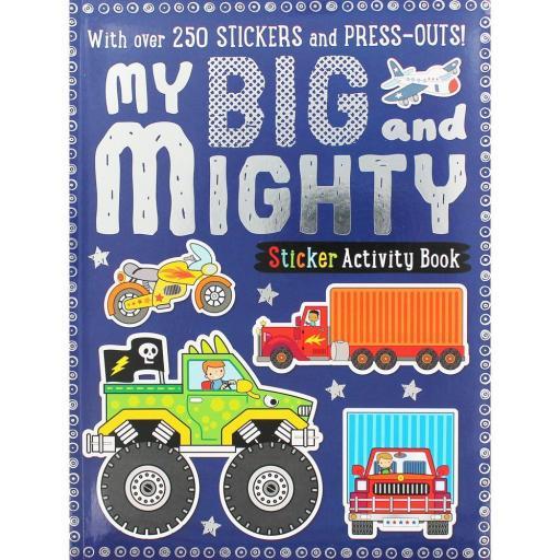 My Big & Mighty Sticker Activity Book