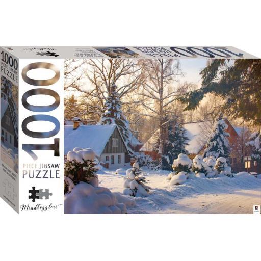 Hinkler Mindbogglers 1,000 pc Jigsaw - Spindleruv, Czech Rep