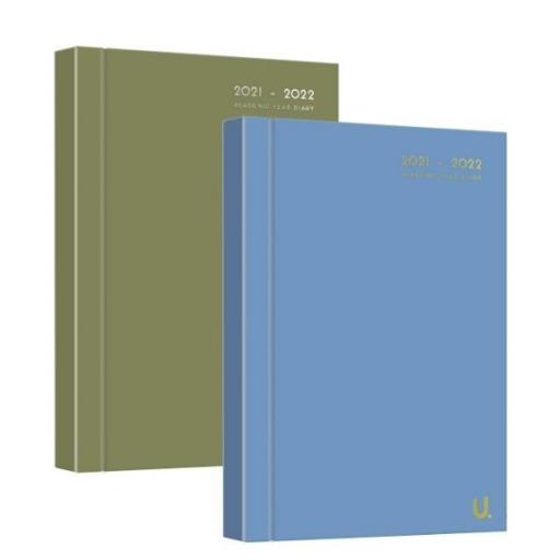 Martello A5 Academic Diary 21/22 - Assorted Colours