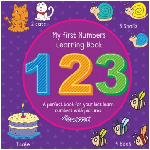 Squiggle My First Learning Book -123
