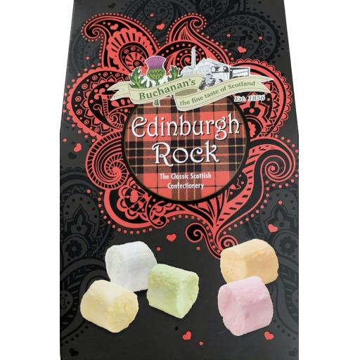 Buchanan's Boxed Edinburgh Rock Box 125g *BBE 10/21