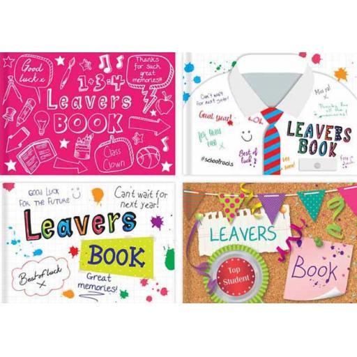 Tallon 100pg Leavers Book - Assorted Design