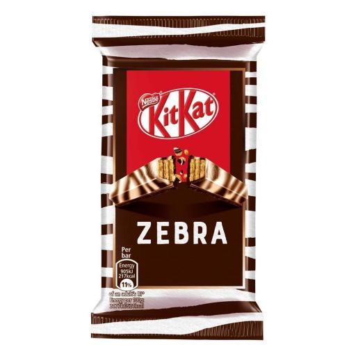 Kit Kat Limited Edition 41.5g - Zebra Dark & White *BBE 11/21