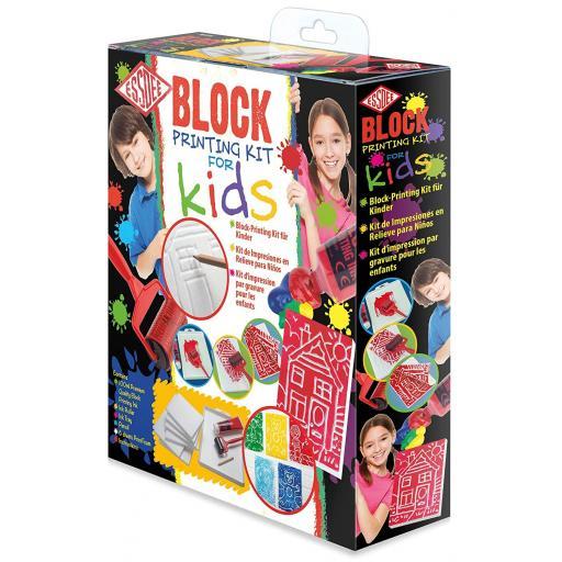 Essdee Kids Block Printing Kit