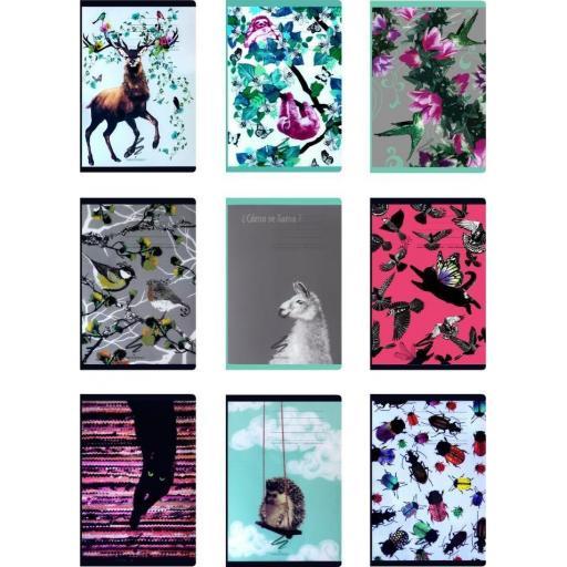Narcissus A4 Fun Plain Notebook Assorted Designs