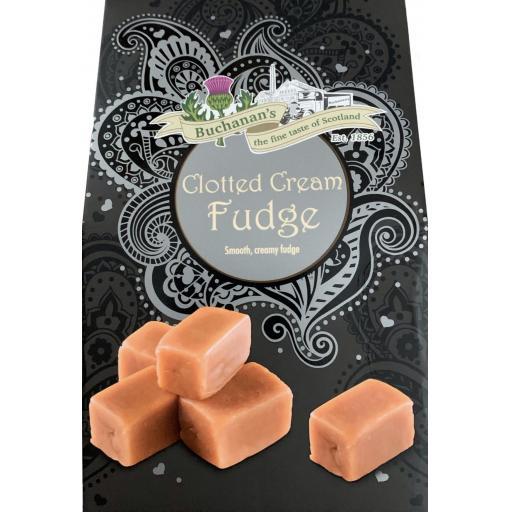 Buchanan's Boxed Clotted Cream Fudge Box 150g