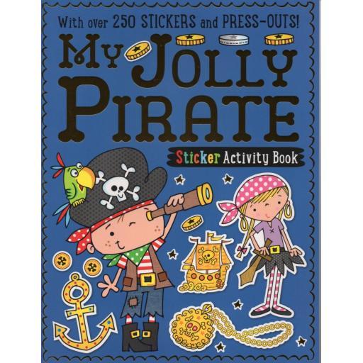 My Jolly Pirate Sticker Activity Book