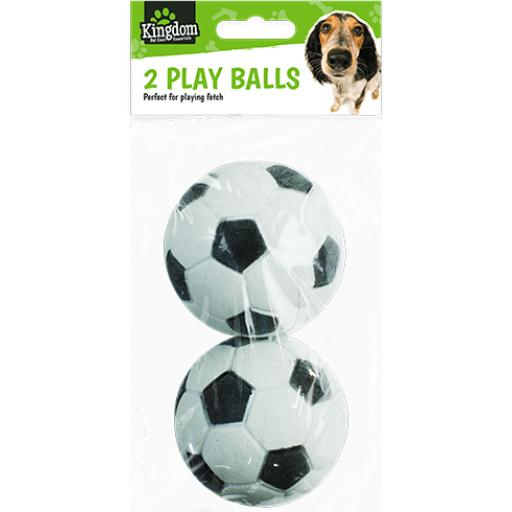 Kingdom Pet Care Play Balls, Assorted - Pack of 2