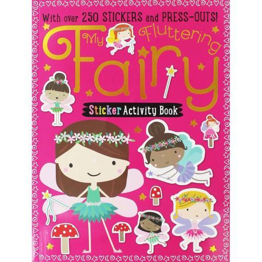 My Fluttering Fairy Sticker Activity Book