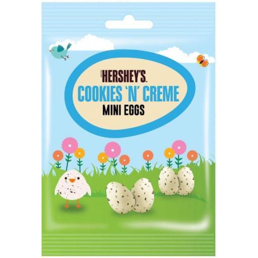 Hershey's Cookies'n'Creme Mini Eggs 75g BBE 07/21