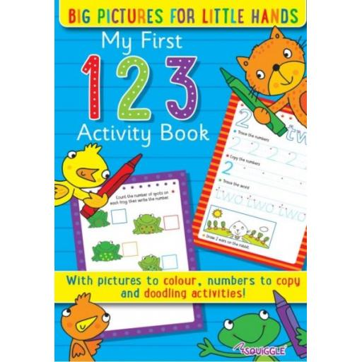 Squiggle My First 123 Activity Book