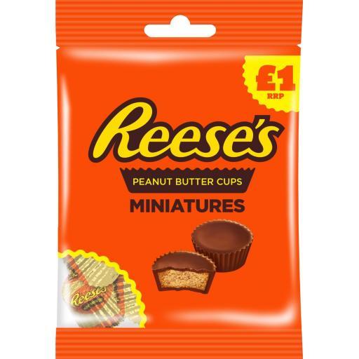 Reese's Peanut Butter Miniature Cups 72g