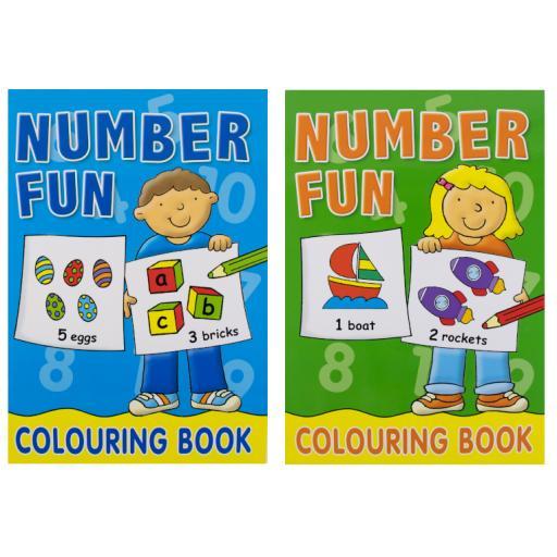 Number Fun Book - Assorted Design