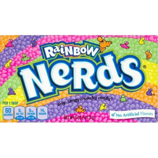 Nerds Rainbow Candy Theatre Box 141g
