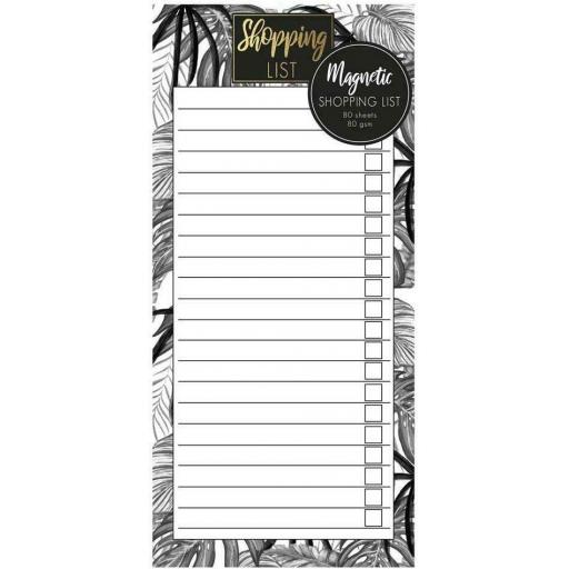 IGD Magnetic Shopping Pad Tropical