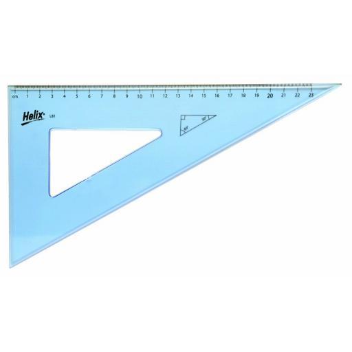 Helix Set Square 26cm - 60 Degree