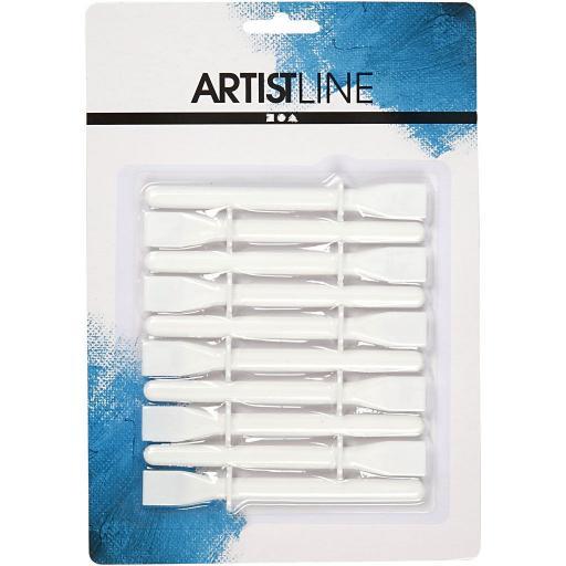 ArtistLine White Plastic Glue Spreaders - Pack of 10