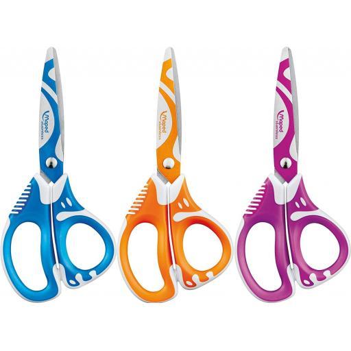 Maped Zenoa Fit 13cm Scissors - Assorted Colours