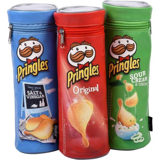 Helix Pringles Pencil Case - Assorted Colours