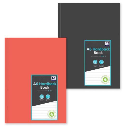 IGD A6 Hardback Book - Assorted Colours
