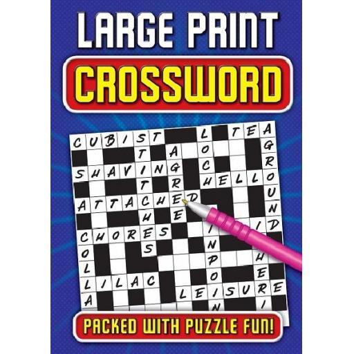 Brown Watson A4 Large Print Crosswords
