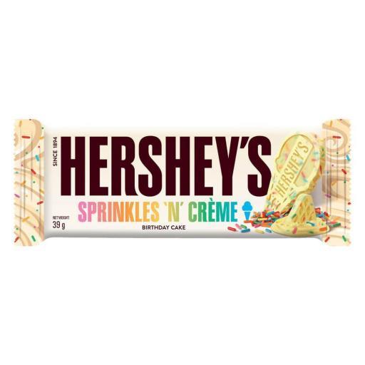 Hershey's Sprinkles'N'Creme Brithday Cake Bar 39g