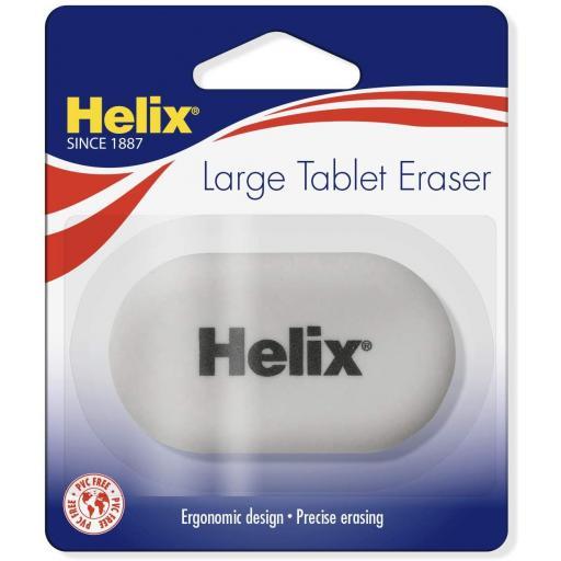 Helix Large Tablet Eraser Single Pack