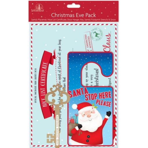 Festive Wonderland Christmas Eve Activity Pack