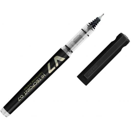 Pilot V7 Refillable Liquid Ink Rollerball Pen - Black