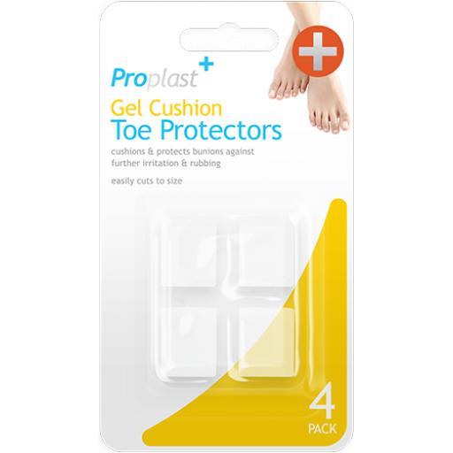 Proplast Gel Cushion Toe Protectors - Pack of 4