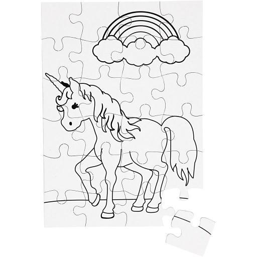 Creativ Unicorn Jigsaw Puzzles - Pack of 16