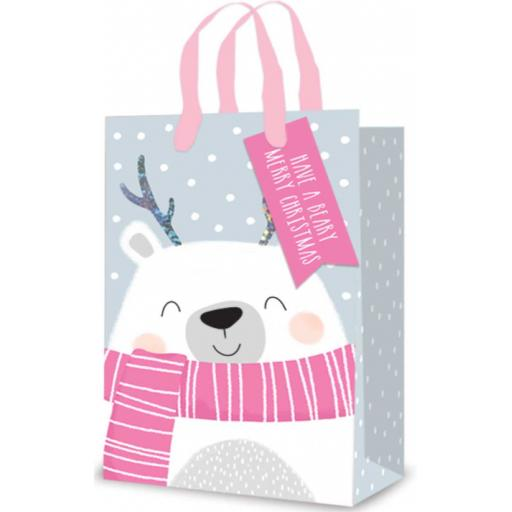 Tallon Pink Polar Bear Perfume Bag - Single