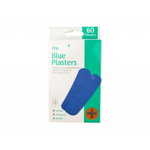 ProPlast Blue Plasters - Pack of 60