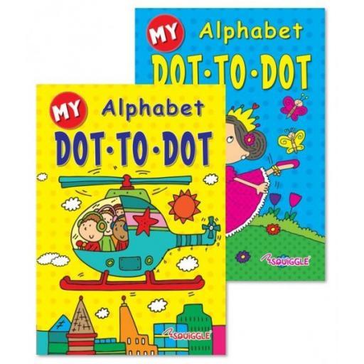 My Alphabet Dot to Dot Books - Set of 2