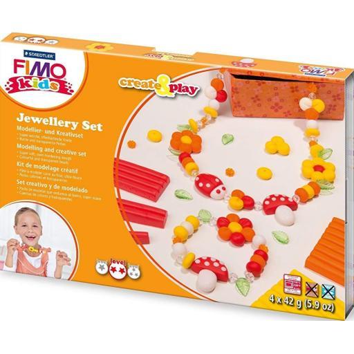 Staedtler Fimo Kids Create & Play Jewellery Set - Flowers