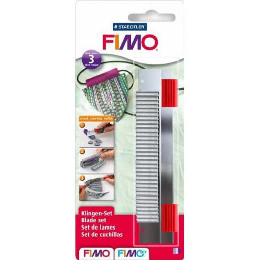Staedtler Fimo Cutter Blades Mixed - Pack of 3