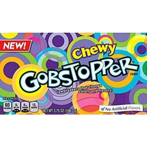 Wonka Chewy Gobstopper Candy Theatre Box 106g