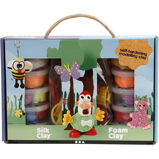 Creativ Foam & Silk Clay Large Box Set
